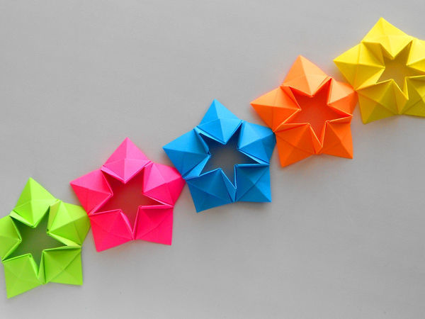 Создаем праздничную гирлянду из бумаги своими руками | Ярмарка Мастеров - ручная работа, handmade