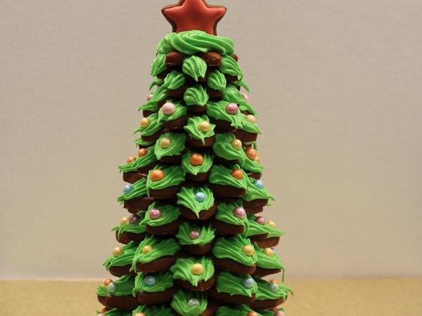 Делаем 3D ёлочку из пряников | Ярмарка Мастеров - ручная работа, handmade