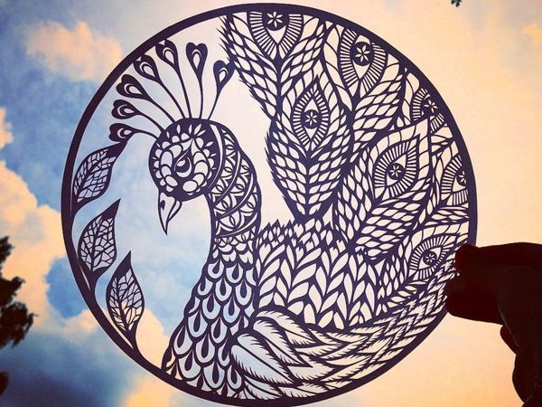 Невероятные, резные бумажные скульптуры от Bird Mafia | Ярмарка Мастеров - ручная работа, handmade