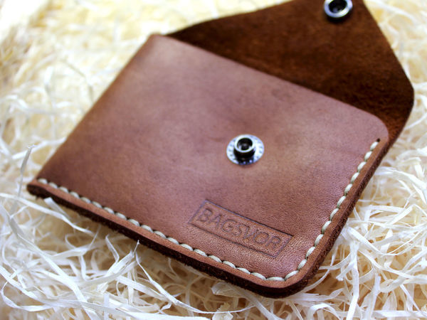 Создаем мини-кошелек или монетницу своими руками: видеоурок   Ярмарка Мастеров - ручная работа, handmade