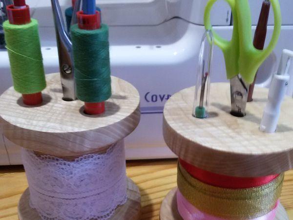 Мастерим из дерева органайзер «Катушка» | Ярмарка Мастеров - ручная работа, handmade
