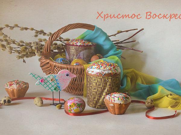 Поздравление с праздником Пасхи!   Ярмарка Мастеров - ручная работа, handmade