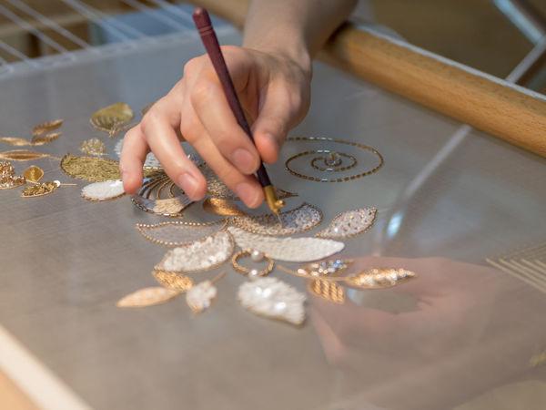 Обучение люневильской вышивке   Ярмарка Мастеров - ручная работа, handmade
