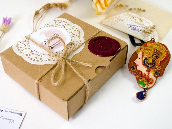 Мой вариант упаковки украшений | Ярмарка Мастеров - ручная работа, handmade