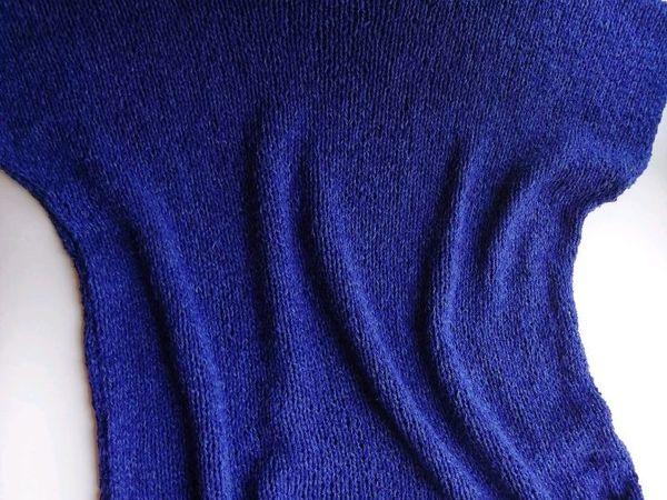 Новый топ из дикого шелка и конопли | Ярмарка Мастеров - ручная работа, handmade