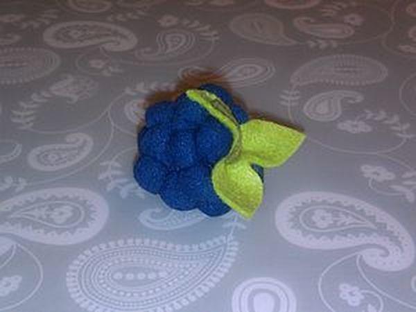 Шьем текстильную ягодку для куколки | Ярмарка Мастеров - ручная работа, handmade