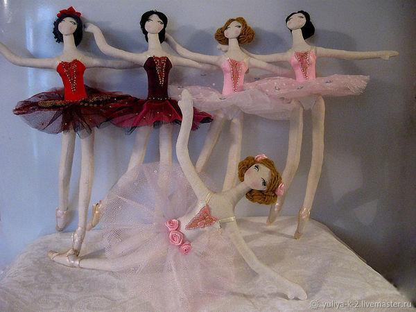 Шьём куклу тряпиенса балерину. Часть 1 | Ярмарка Мастеров - ручная работа, handmade