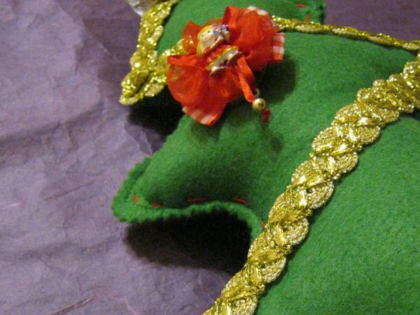 Изготавливаем ёлку-подушку и мягкую игрушку | Ярмарка Мастеров - ручная работа, handmade