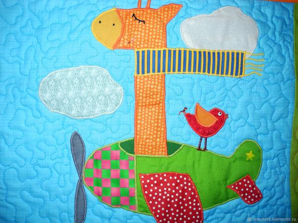 Лоскутные покрывала с аппликациями для детей! | Ярмарка Мастеров - ручная работа, handmade