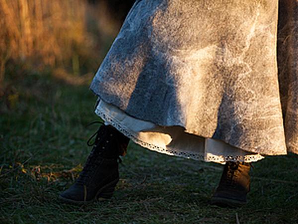Семинар! Юбка из войлока (армированный войлок) | Ярмарка Мастеров - ручная работа, handmade
