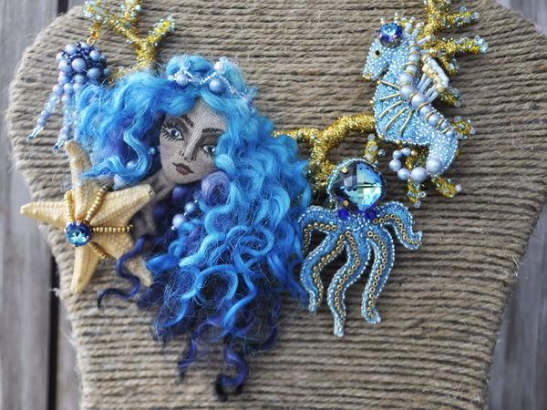 Работа на конкурс bermuda blue 2017 | Ярмарка Мастеров - ручная работа, handmade