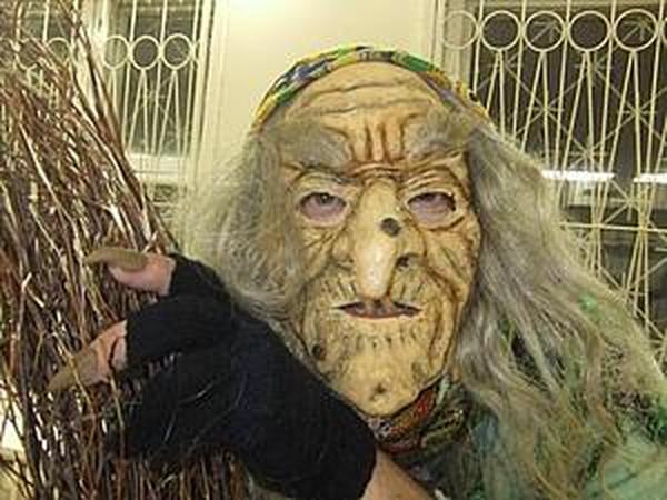 Делаем маску Бабы Яги | Ярмарка Мастеров - ручная работа, handmade