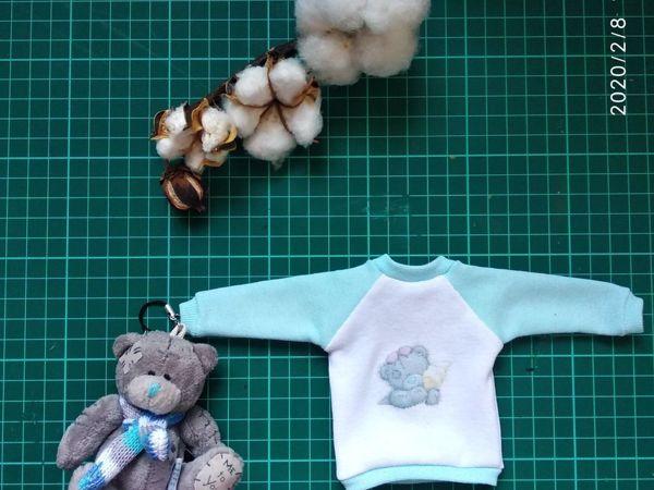 Шьем свитшот для текстильной куклы   Ярмарка Мастеров - ручная работа, handmade