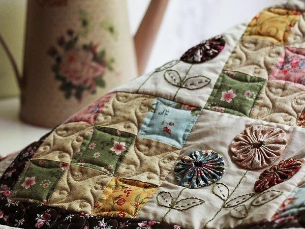 Patchwork Plaid Quilt Tutorial | Livemaster - handmade