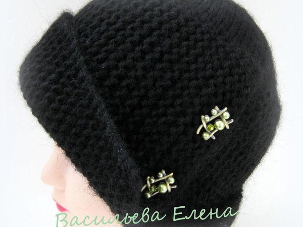 Вяжем спицами шапочку «Робин» | Ярмарка Мастеров - ручная работа, handmade