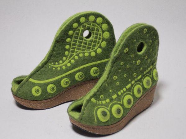 Декорируем валяную обувь | Ярмарка Мастеров - ручная работа, handmade