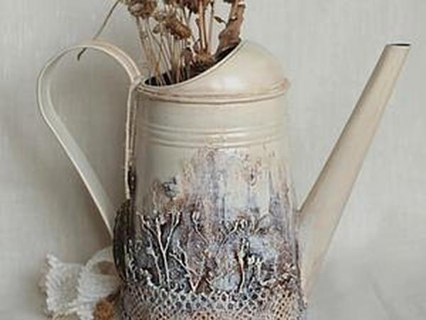 «В заколдованном лесу», или Преображение обычной лейки в сказочную   Ярмарка Мастеров - ручная работа, handmade