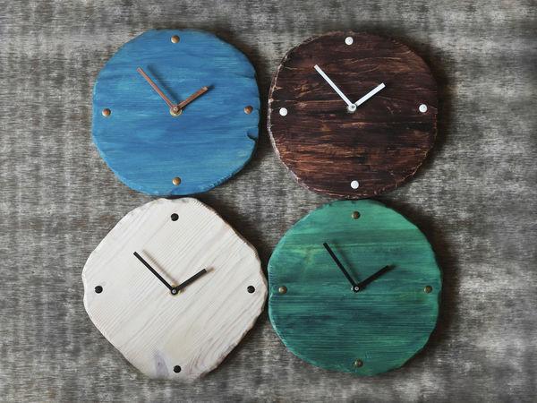 Новая коллекция деревянных часов | Ярмарка Мастеров - ручная работа, handmade