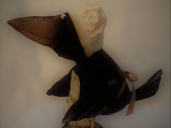 Ворона Повариха! | Ярмарка Мастеров - ручная работа, handmade