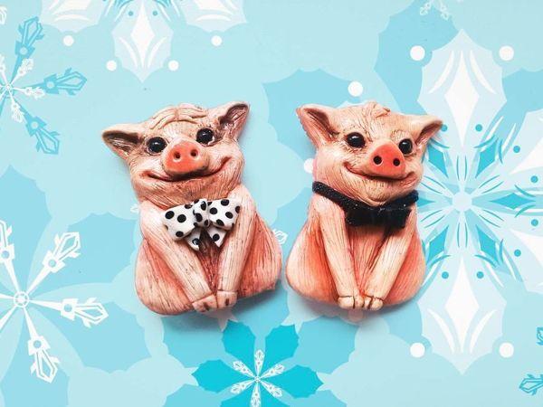 Победители розыгрыша конфетки!  «Свинка-хрю-хрю» . 2 приза- 2 победителя!   Ярмарка Мастеров - ручная работа, handmade
