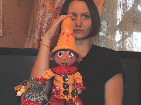 Гномка с Гномом +подарок и бесплатная доставкапо РФ до 23 мая | Ярмарка Мастеров - ручная работа, handmade