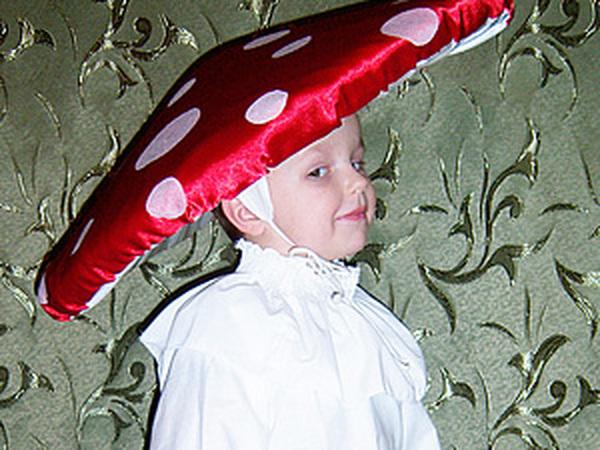 Шляпа для Мухомора (карнавальный костюм)   Ярмарка Мастеров - ручная работа, handmade