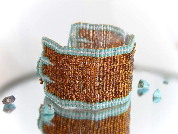 Плетем нежные браслеты из бисера | Ярмарка Мастеров - ручная работа, handmade