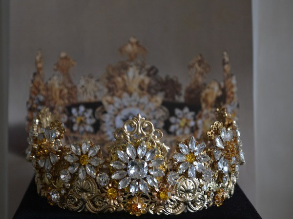 Корона Ромашки Барокко   Ярмарка Мастеров - ручная работа, handmade