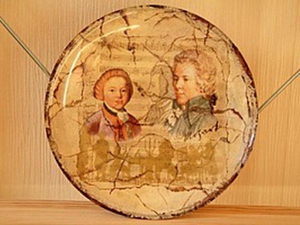 Делаем огненный кракелюр на тарелке | Ярмарка Мастеров - ручная работа, handmade