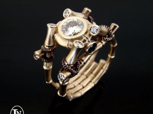 Все варианты кольца Бамбук | Ярмарка Мастеров - ручная работа, handmade