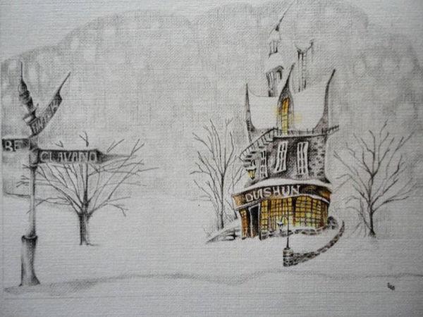 На краю зимы | Ярмарка Мастеров - ручная работа, handmade
