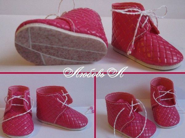 Шьем ботиночки для куклы (МК) | Ярмарка Мастеров - ручная работа, handmade
