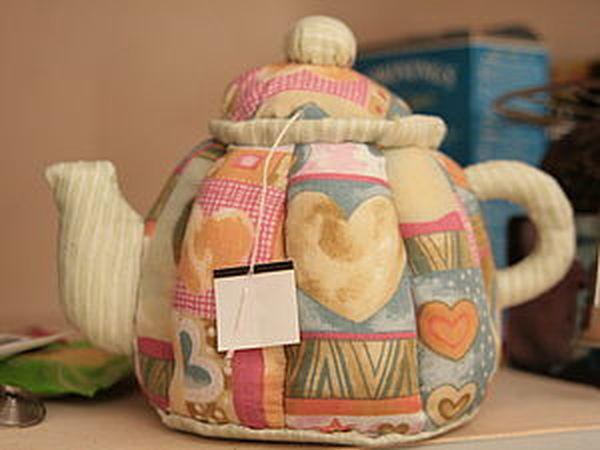 Всем - по чайнику! :-) (Мастер-класс по созданию текстильного чайника) | Ярмарка Мастеров - ручная работа, handmade
