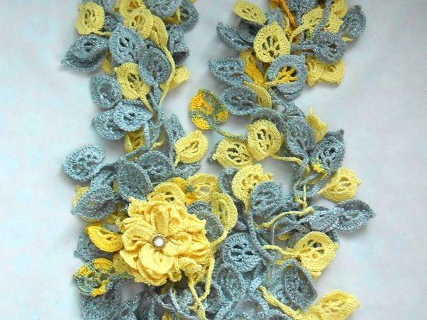 Оригинальные шарфики от 999 руб | Ярмарка Мастеров - ручная работа, handmade