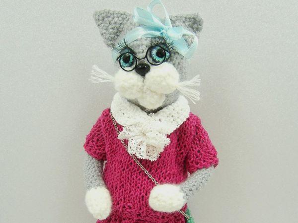 Кошка Агата | Ярмарка Мастеров - ручная работа, handmade