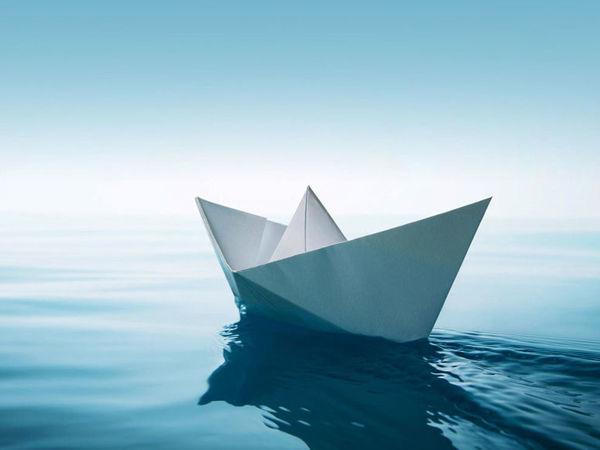 Бумажный кораблик | Журнал Ярмарки Мастеров
