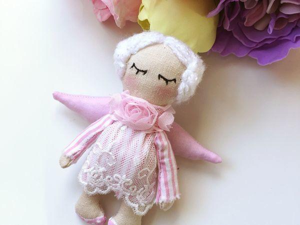 Шьем маленькую куколку «Рождественский ангелок»   Ярмарка Мастеров - ручная работа, handmade