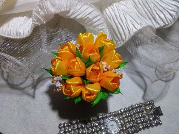 Создаем тюльпан канзаши   Ярмарка Мастеров - ручная работа, handmade