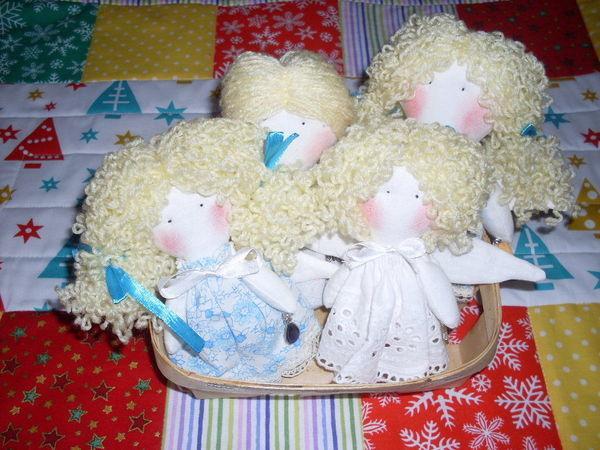 Ангелочки на Рождество! | Ярмарка Мастеров - ручная работа, handmade