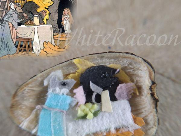 Миниатюра в семечке подсолнуха | Ярмарка Мастеров - ручная работа, handmade