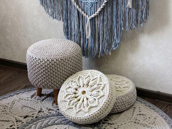 Вязаный уют в Ваш дом | Ярмарка Мастеров - ручная работа, handmade