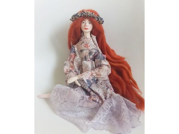 Кукла  «Весна» | Ярмарка Мастеров - ручная работа, handmade