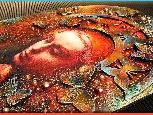Декоративное панно  «Вечерние грезы»  — авторский МК Натальи Полех!   Ярмарка Мастеров - ручная работа, handmade