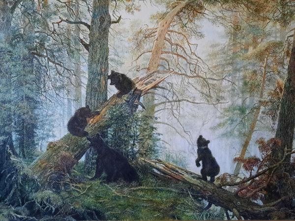 Шишкин, его картины и мои копии | Ярмарка Мастеров - ручная работа, handmade