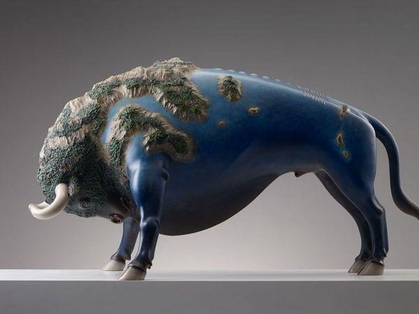 Сюрреалистические животные Wang Ruilin | Ярмарка Мастеров - ручная работа, handmade