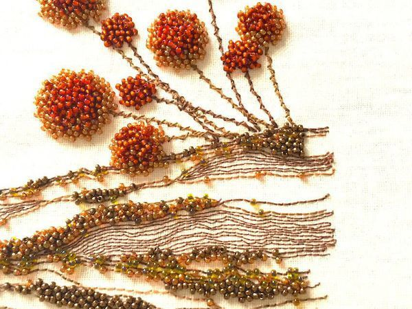 25+ Amazing Bead Embroidery by Kyoko Creation Broderie   Livemaster - handmade