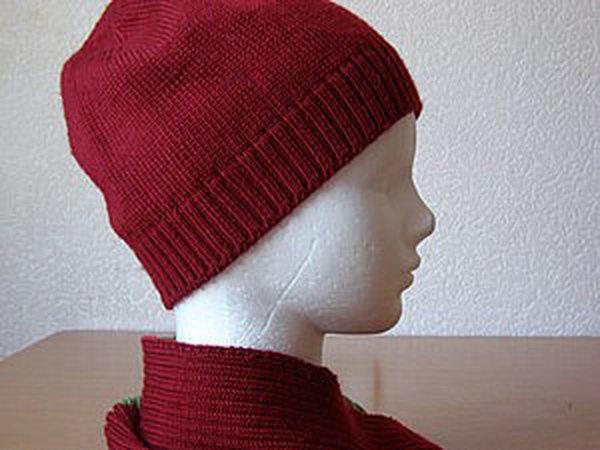 Вяжем шапочку клиньями на машине | Ярмарка Мастеров - ручная работа, handmade