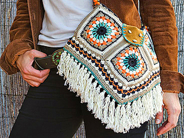 Вязаные сумки: богатство фантазии дизайнеров   Ярмарка Мастеров - ручная работа, handmade