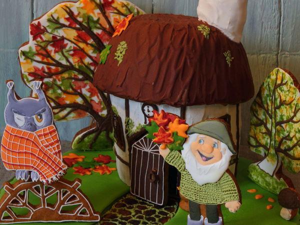 Создаем пряничную композицию «Осенняя сказка» | Ярмарка Мастеров - ручная работа, handmade