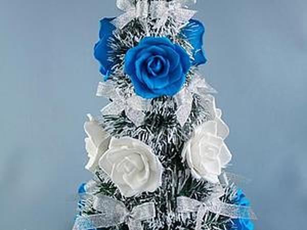 Необычная новогодняя елка | Ярмарка Мастеров - ручная работа, handmade